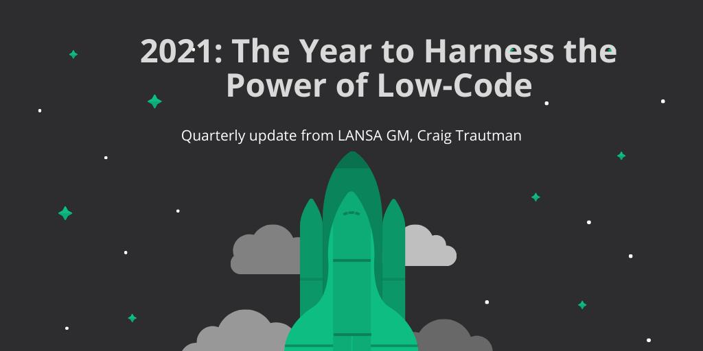 LANSA V15+ Low-Code